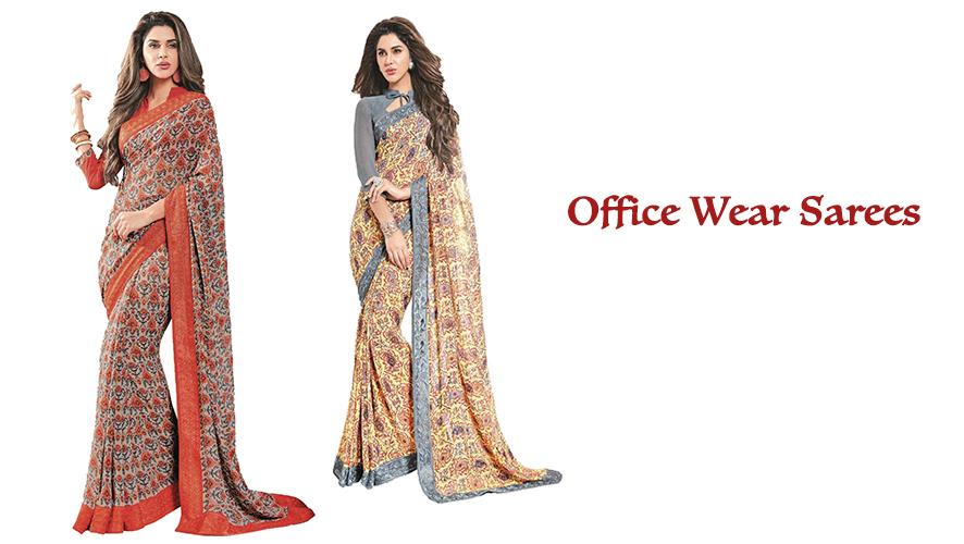 How sarees make an impact at work place